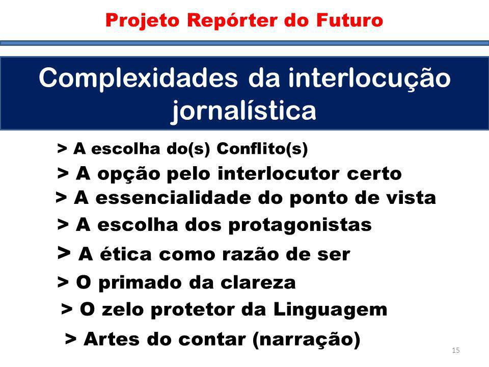 Complexidades da interlocução jornalística