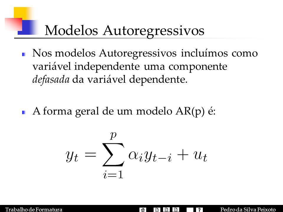 Modelos Autoregressivos