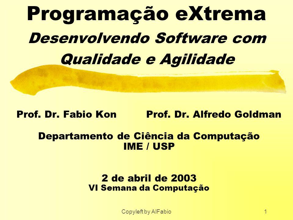 Programação eXtrema Desenvolvendo Software com Qualidade e Agilidade