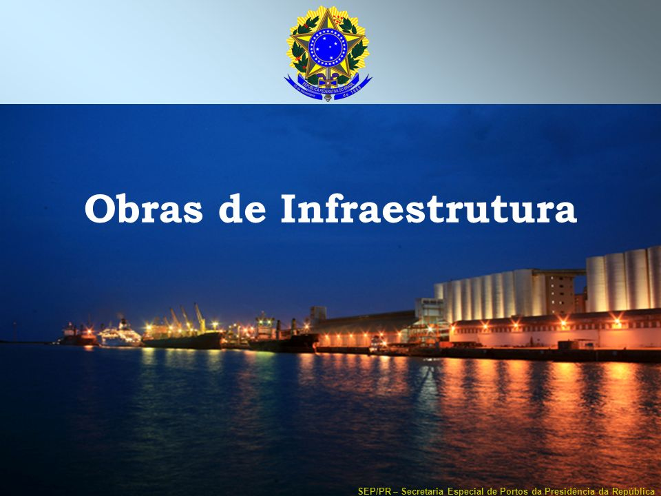 Obras de Infraestrutura