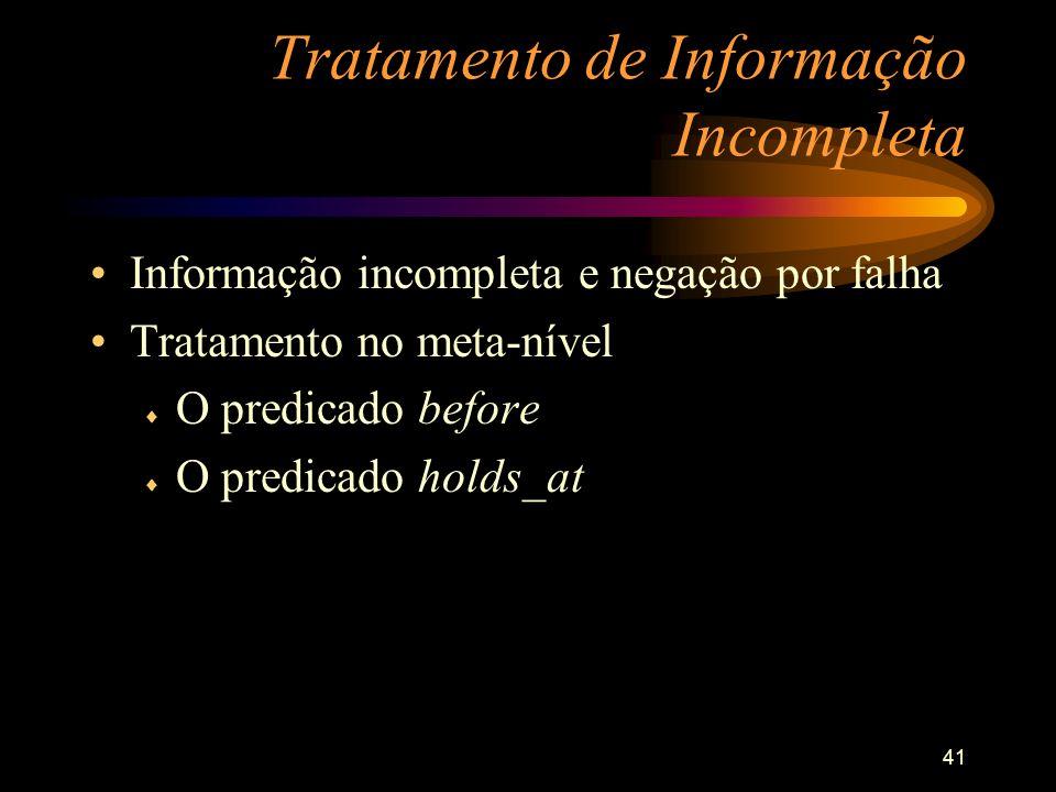 Tratamento de Informação Incompleta