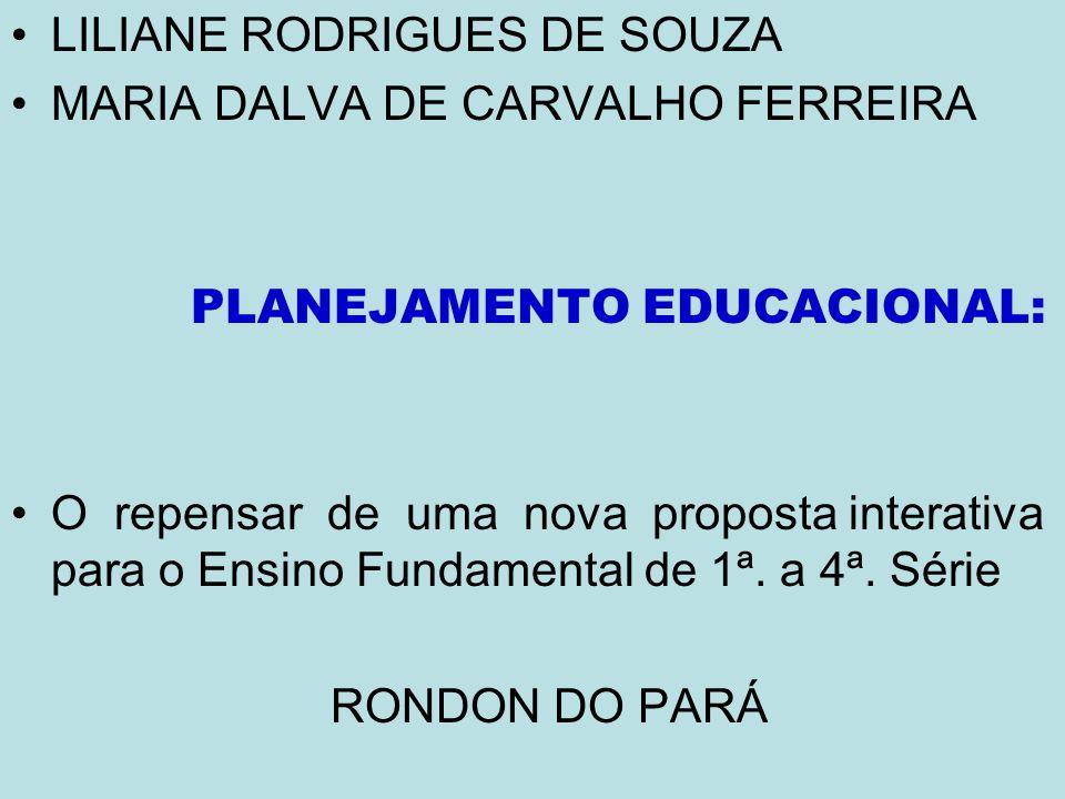 PLANEJAMENTO EDUCACIONAL: