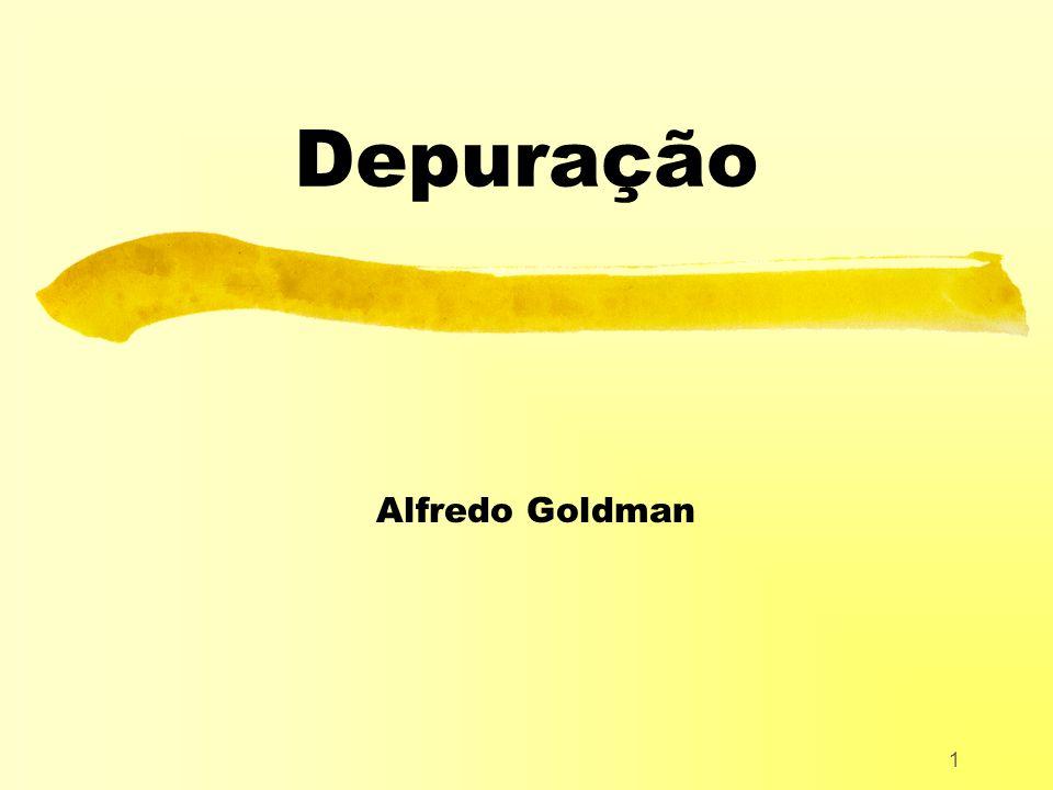Depuração Alfredo Goldman