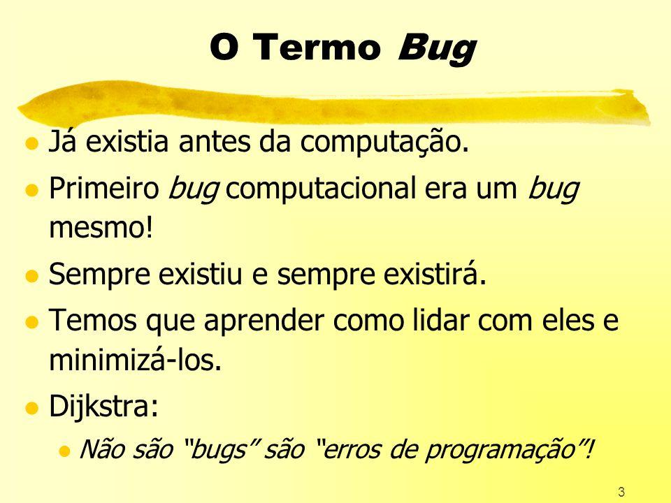 O Termo Bug Já existia antes da computação.