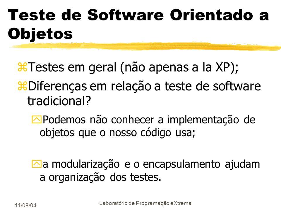 Teste de Software Orientado a Objetos