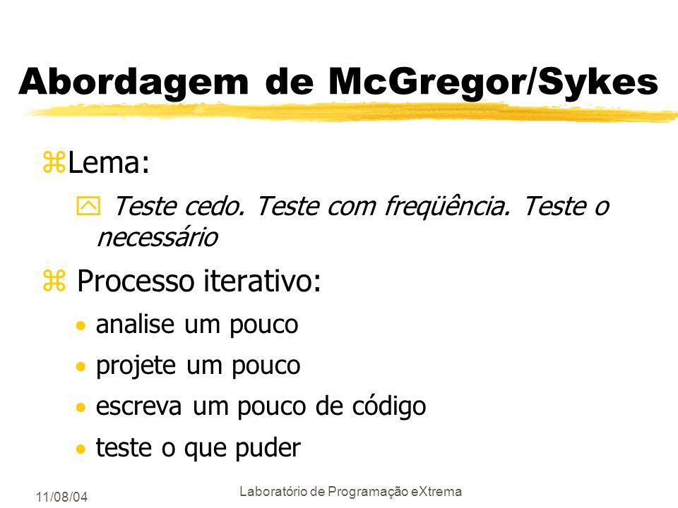 Abordagem de McGregor/Sykes