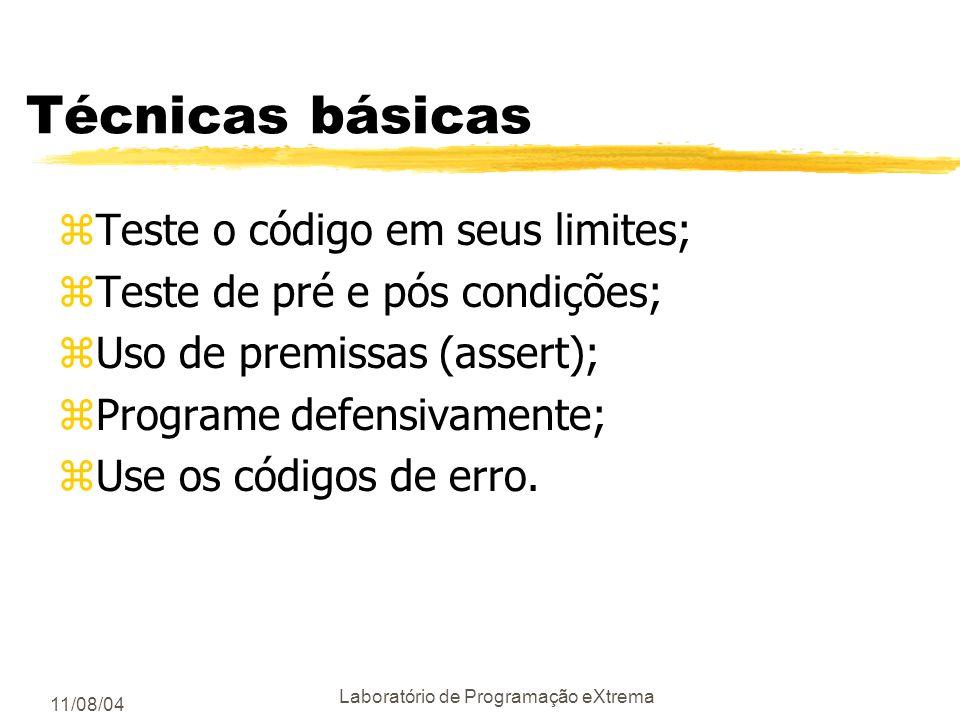 Laboratório de Programação eXtrema