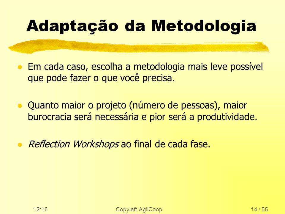 Adaptação da Metodologia