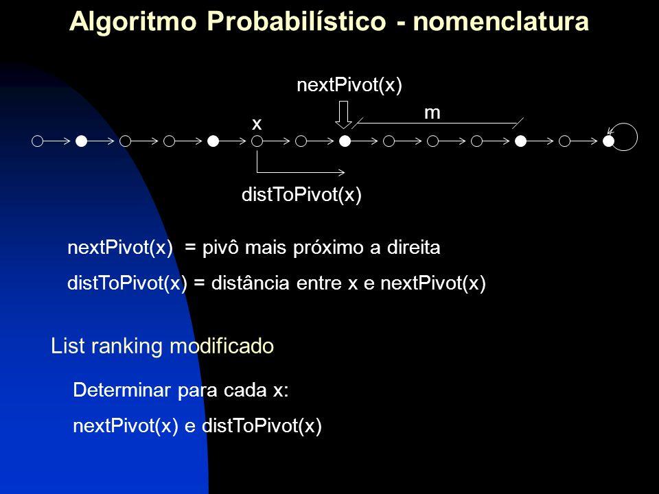 Algoritmo Probabilístico - nomenclatura