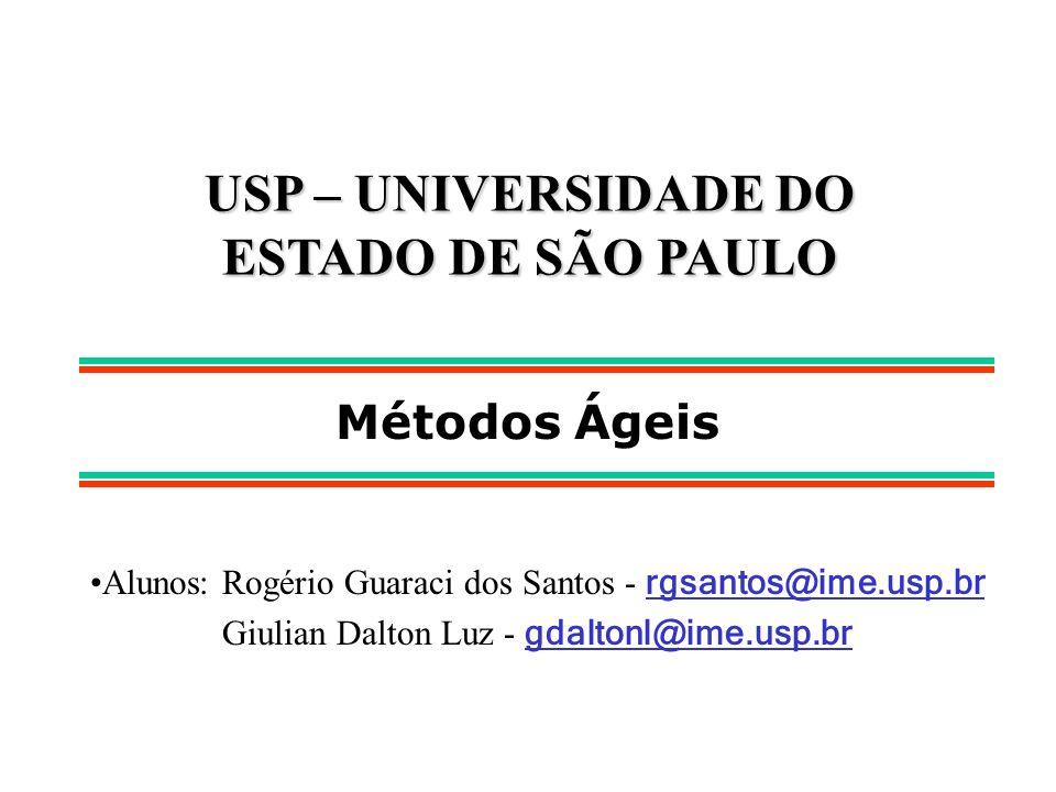 USP – UNIVERSIDADE DO ESTADO DE SÃO PAULO