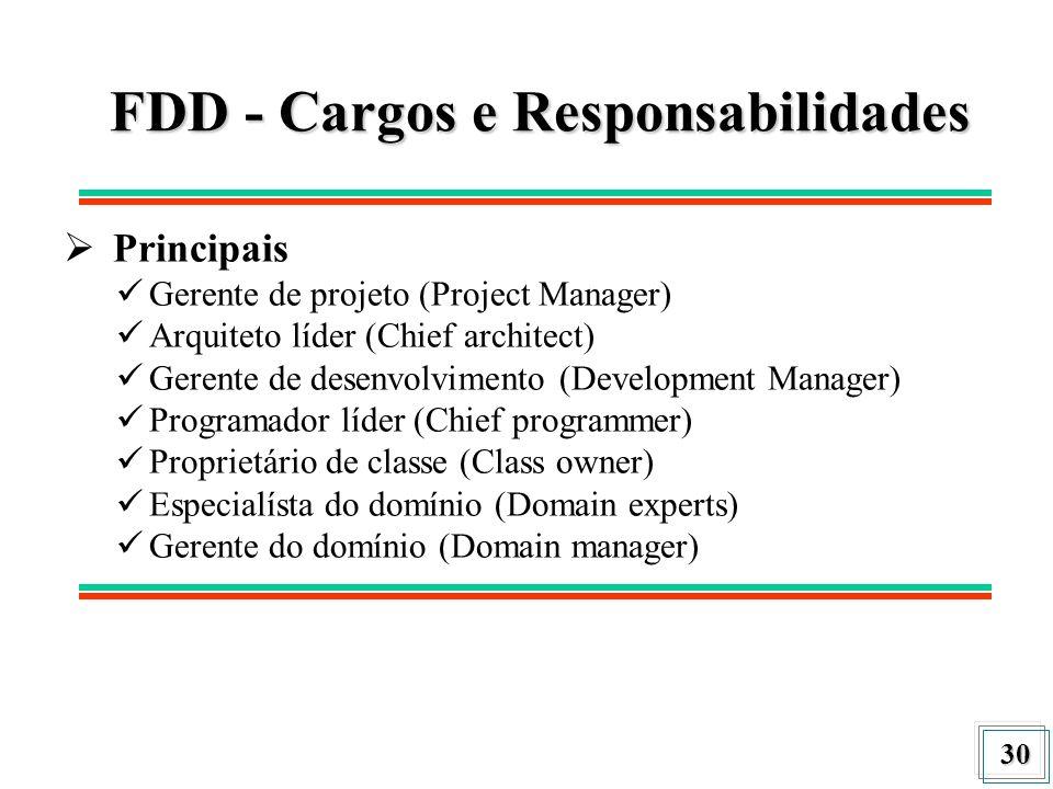 FDD - Cargos e Responsabilidades