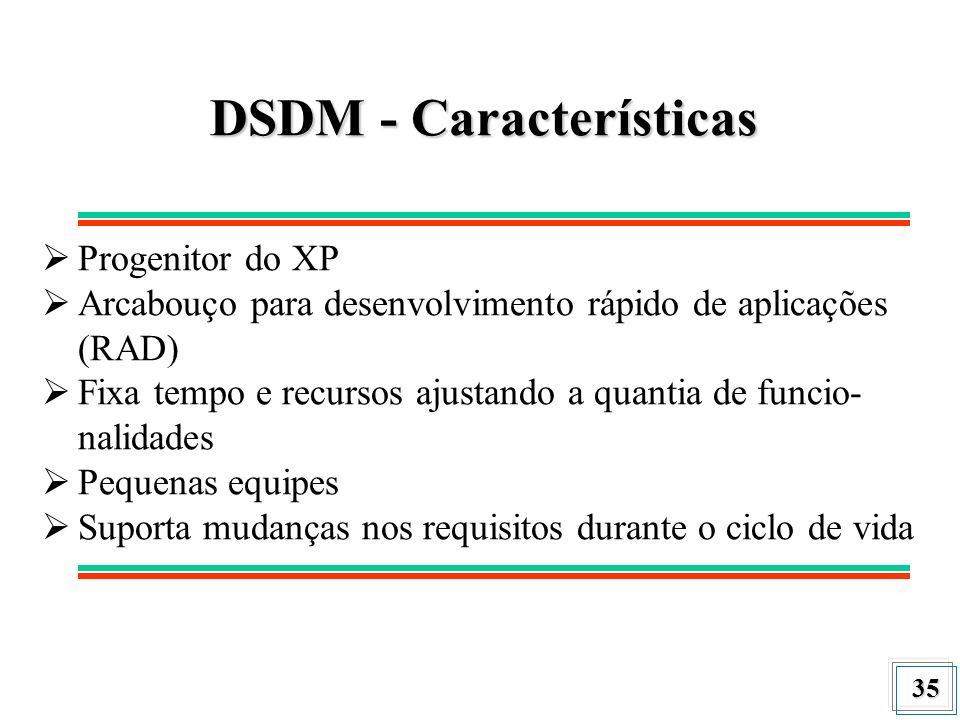 DSDM - Características