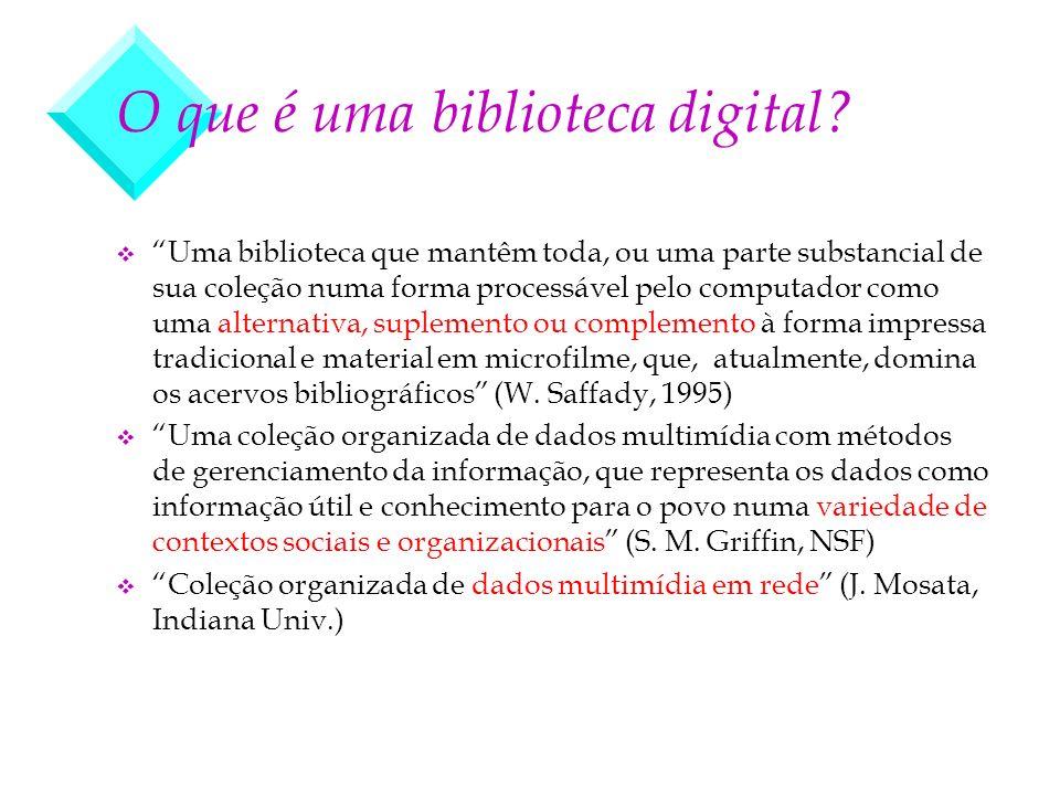 O que é uma biblioteca digital