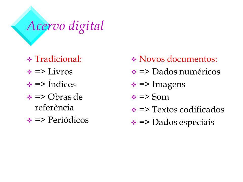 Acervo digital Tradicional: => Livros => Índices