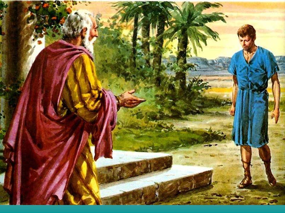 + O Evangelho de hoje nos convida a imitar o gesto do Pai: