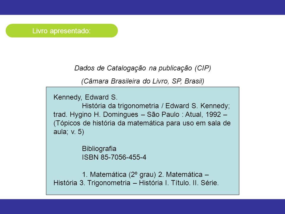 Dados de Catalogação na publicação (CIP)