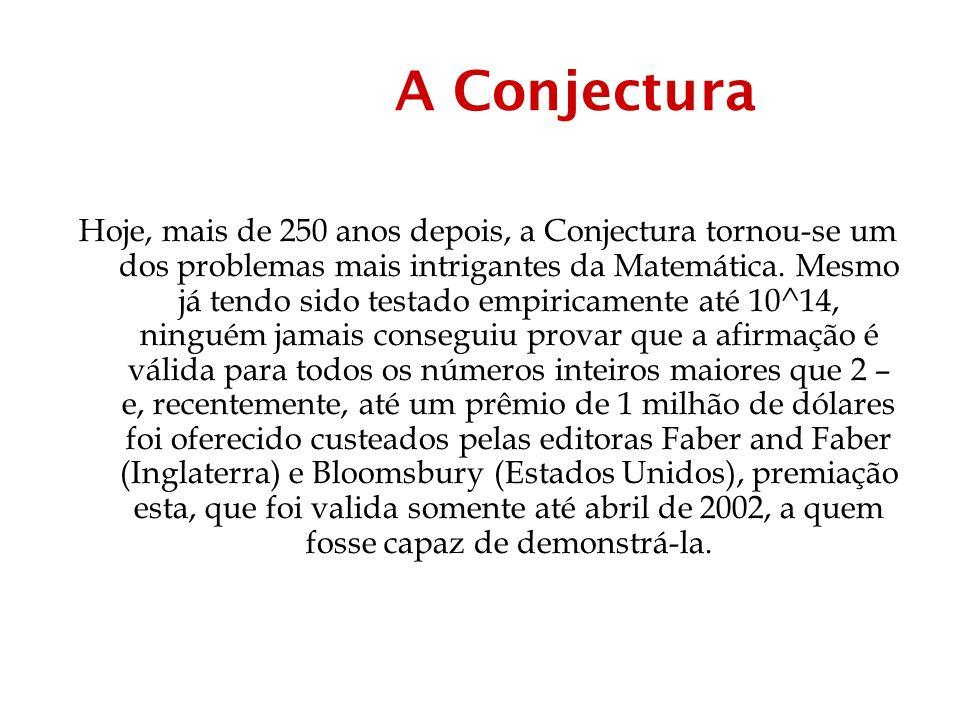 A Conjectura