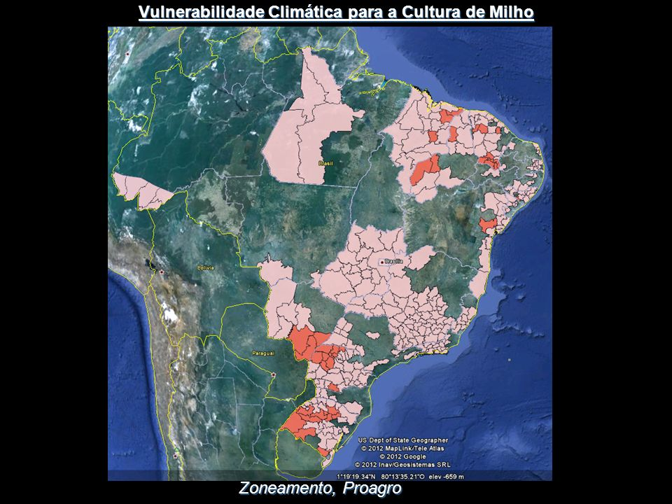 Vulnerabilidade Climática para a Cultura de Milho