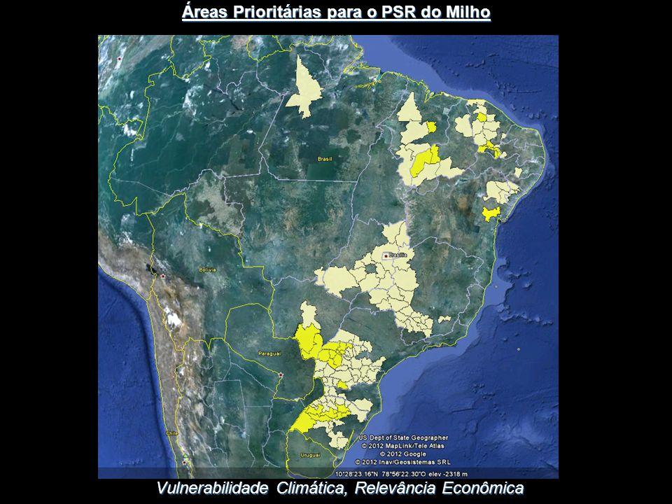 Áreas Prioritárias para o PSR do Milho