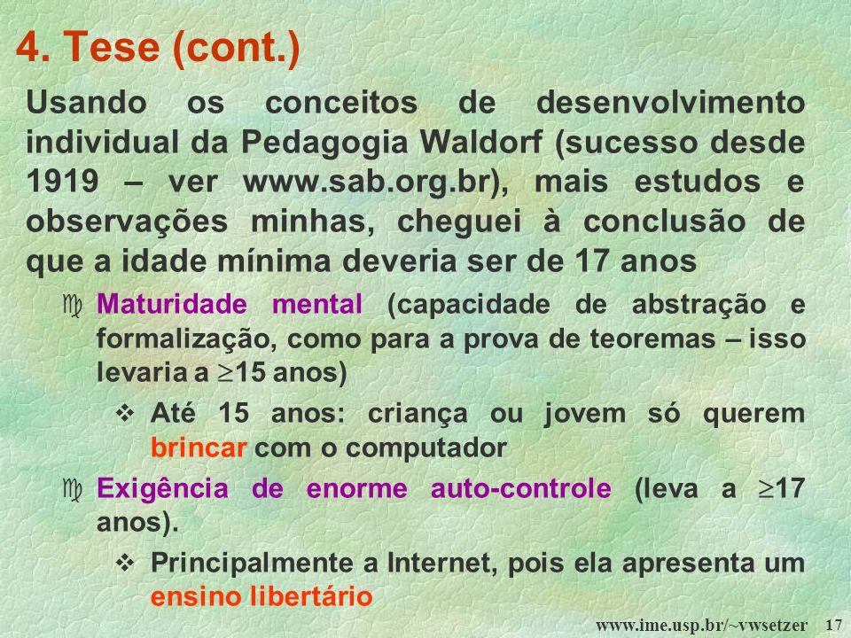 4. Tese (cont.)