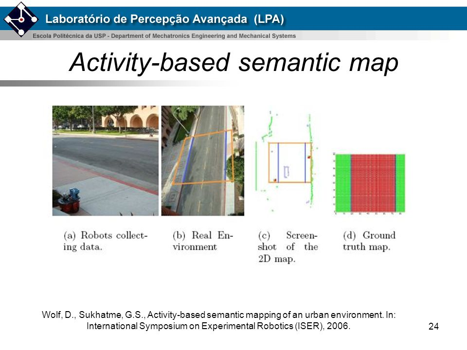 Activity-based semantic map