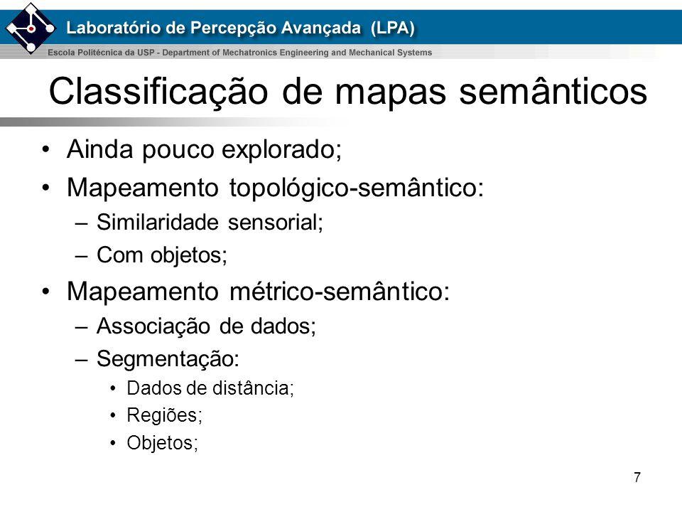 Classificação de mapas semânticos