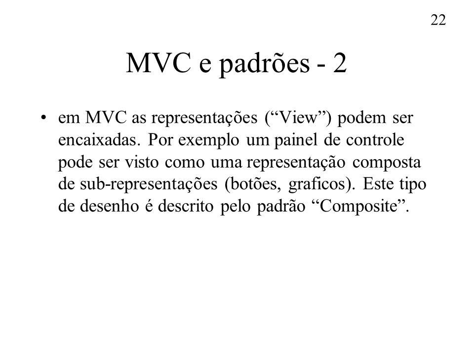 MVC e padrões - 2
