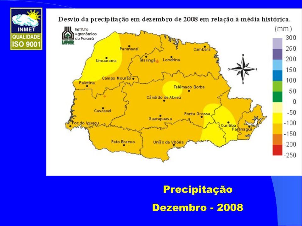 Precipitação Dezembro - 2008