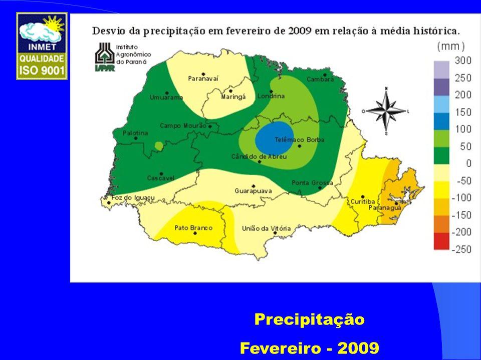 Precipitação Fevereiro - 2009