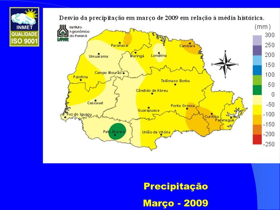 Precipitação Março - 2009