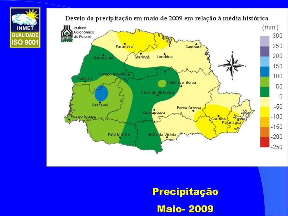 Precipitação Maio- 2009