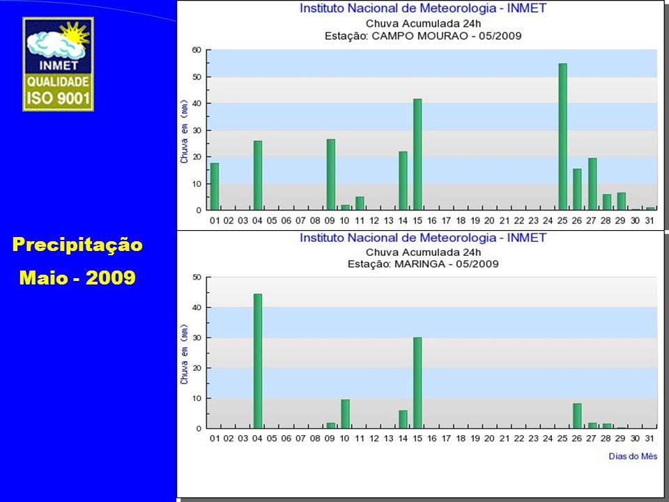 Precipitação Maio - 2009