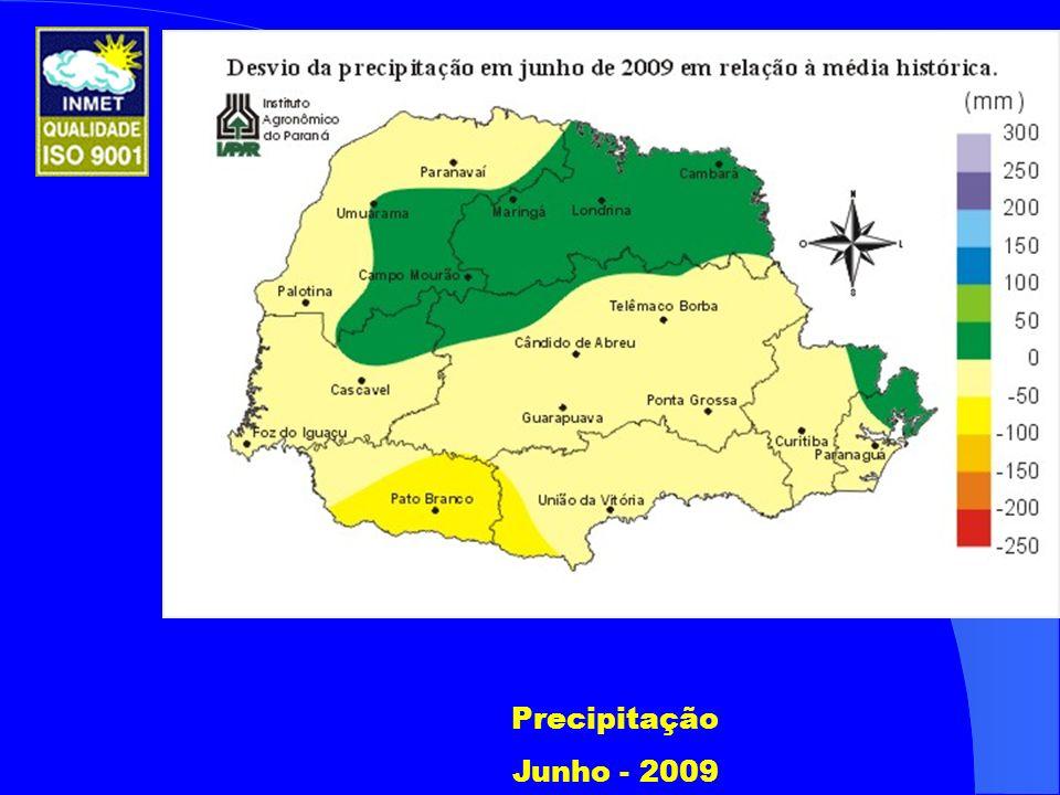 Precipitação Junho - 2009