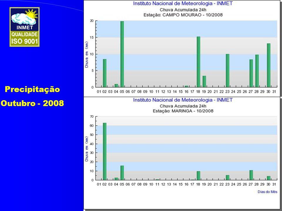 Precipitação Outubro - 2008