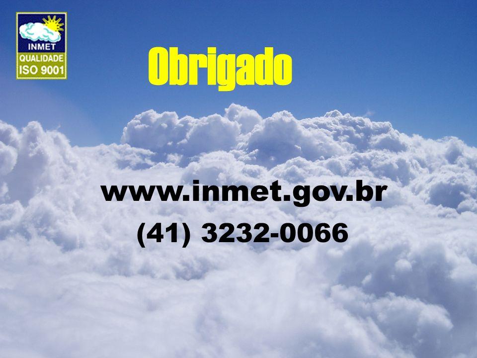 Obrigado www.inmet.gov.br (41) 3232-0066