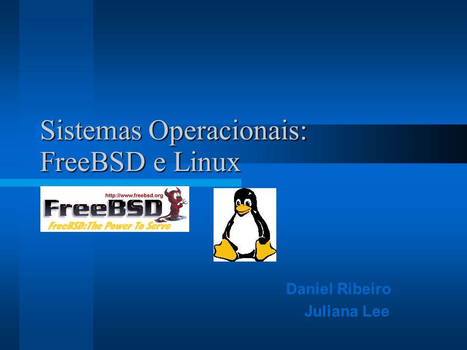 Sistemas Operacionais: FreeBSD e Linux