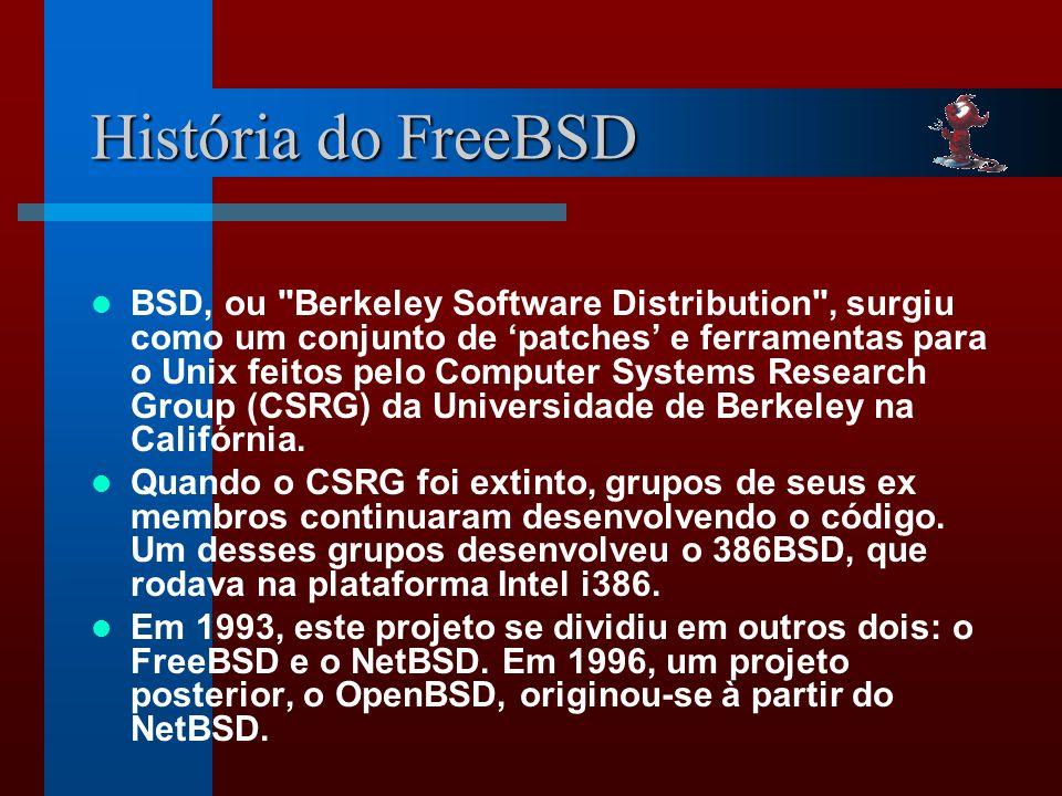 História do FreeBSD