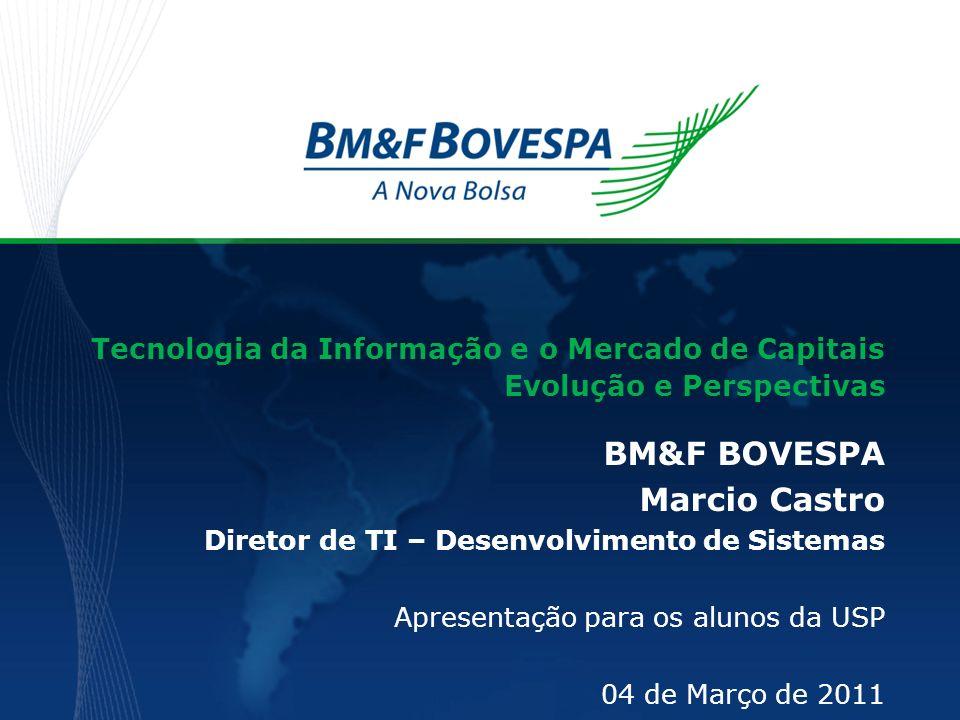 BM&F BOVESPA Marcio Castro