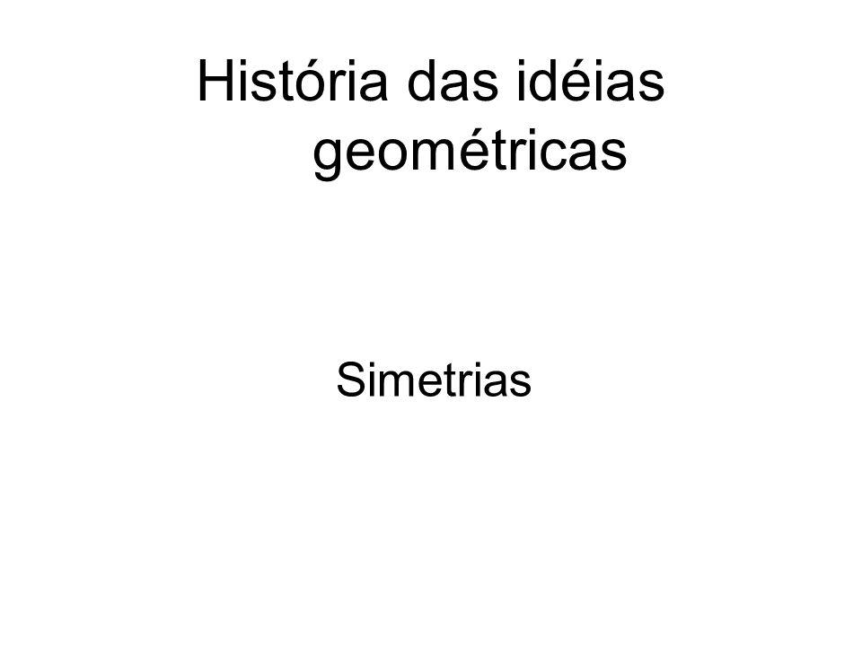 História das idéias geométricas