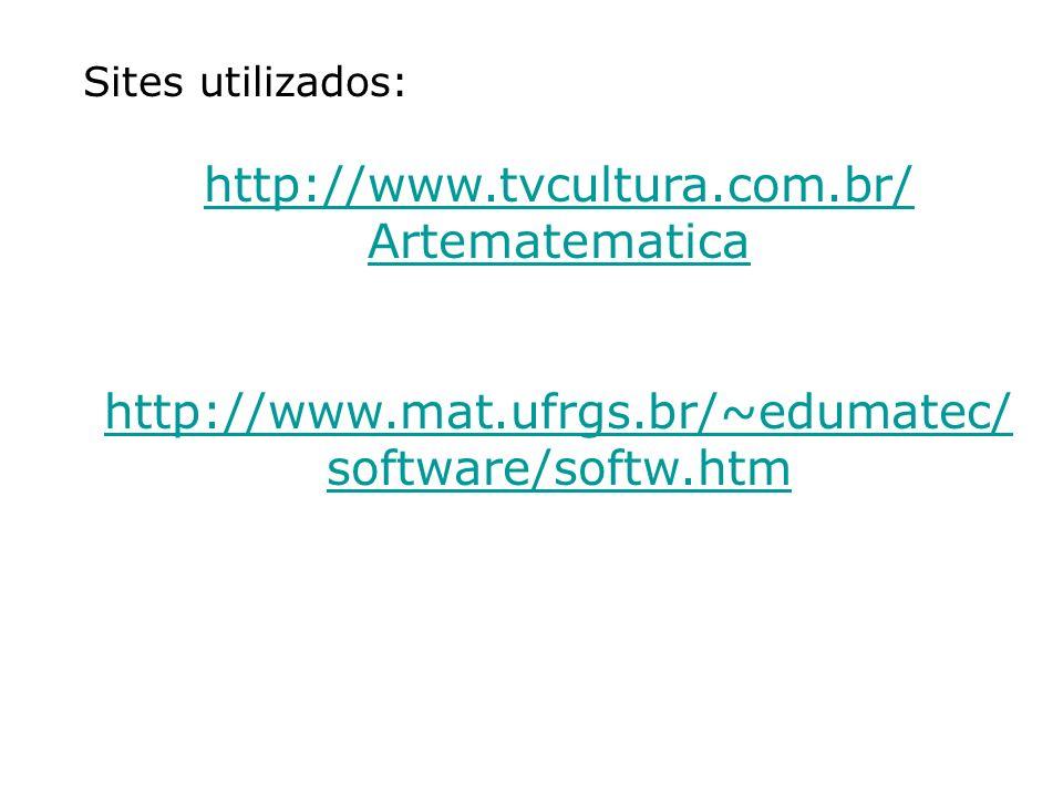 http://www.tvcultura.com.br/ Artematematica