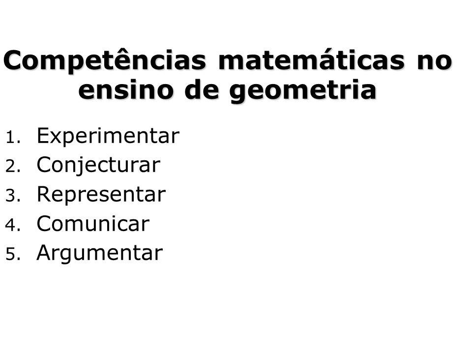 Competências matemáticas no ensino de geometria