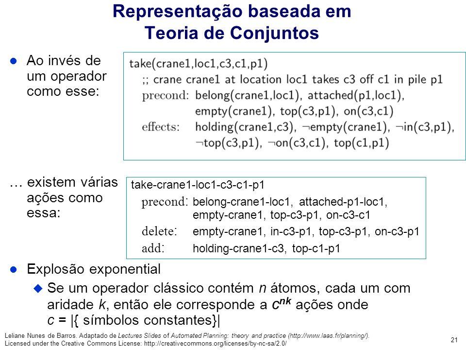 Representação baseada em Teoria de Conjuntos