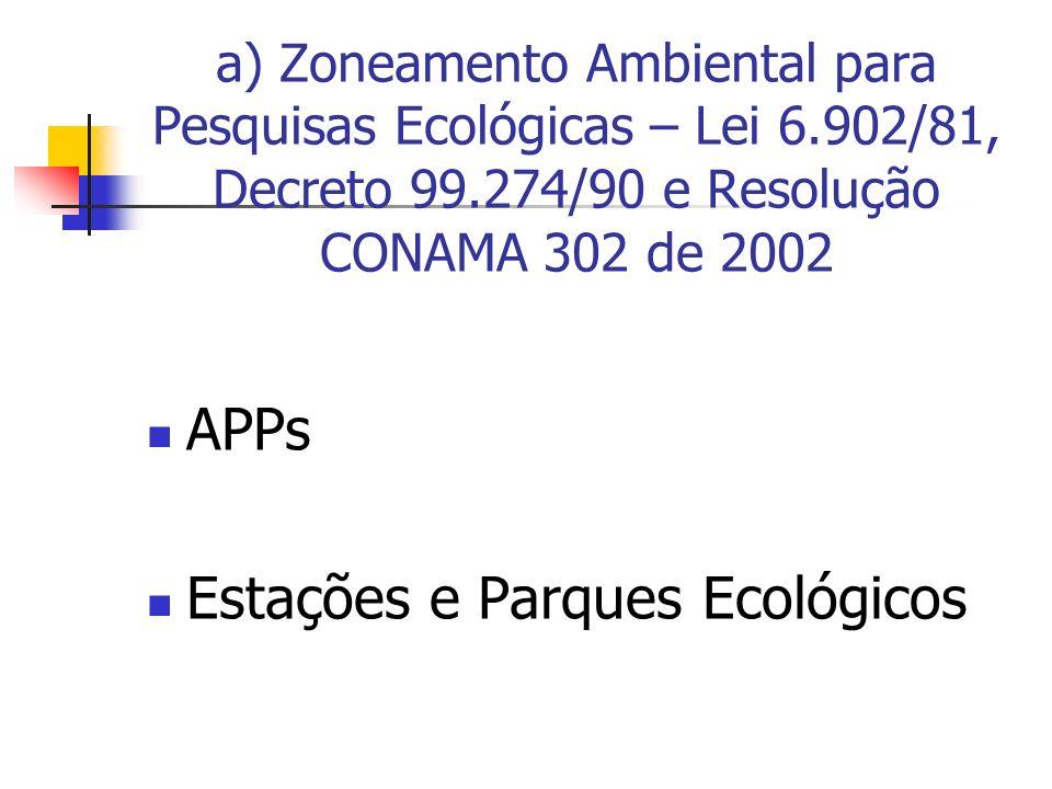 Estações e Parques Ecológicos