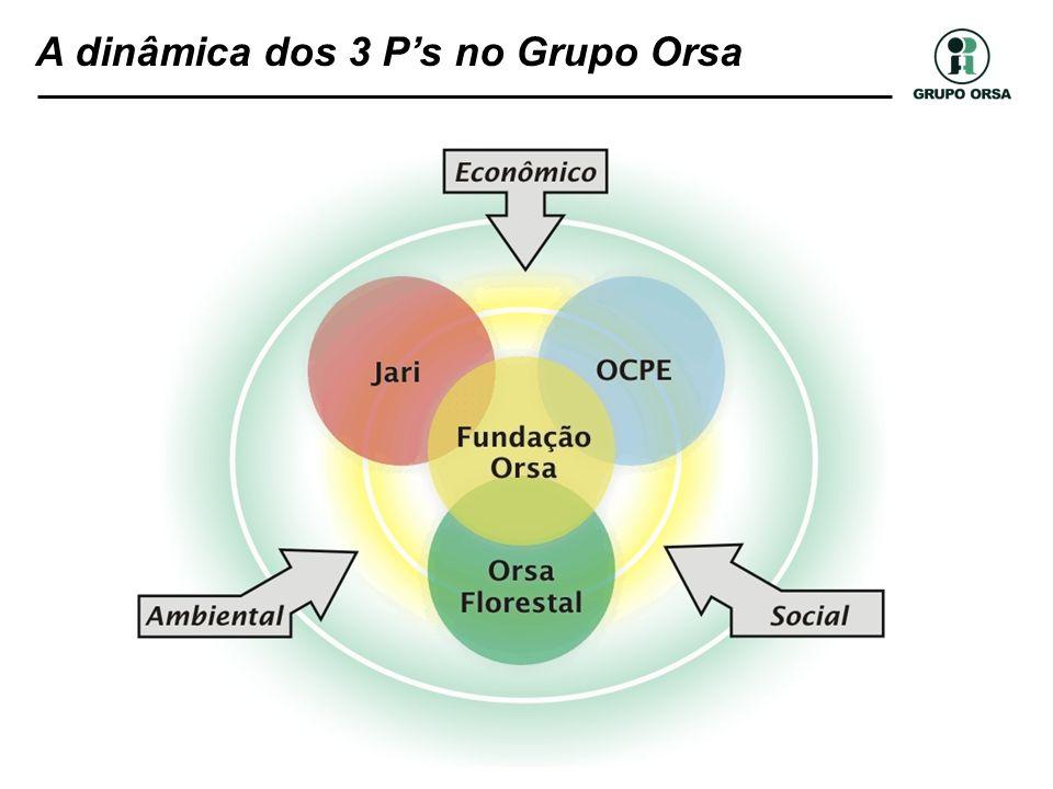 A dinâmica dos 3 P's no Grupo Orsa