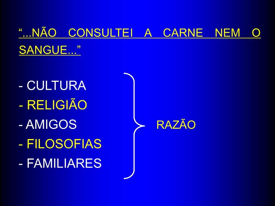 - CULTURA - RELIGIÃO - AMIGOS - FILOSOFIAS - FAMILIARES
