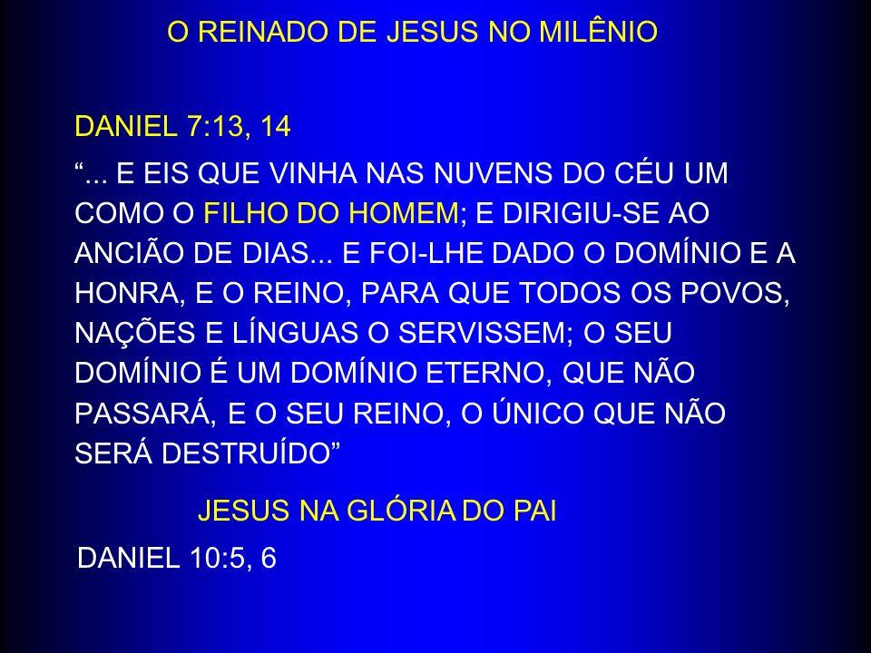 O REINADO DE JESUS NO MILÊNIO