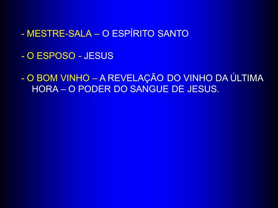 - MESTRE-SALA – O ESPÍRITO SANTO