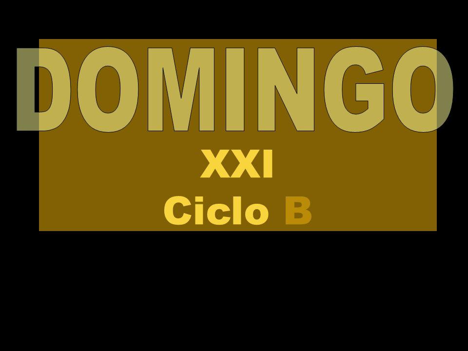 DOMINGO XXI Ciclo B