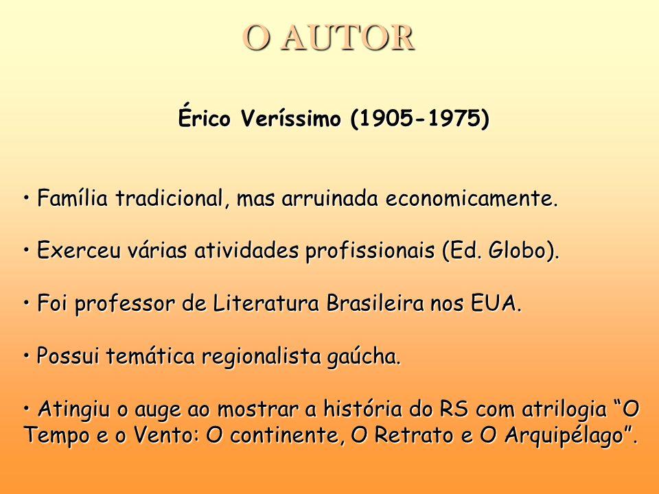 O AUTOR Érico Veríssimo (1905-1975)