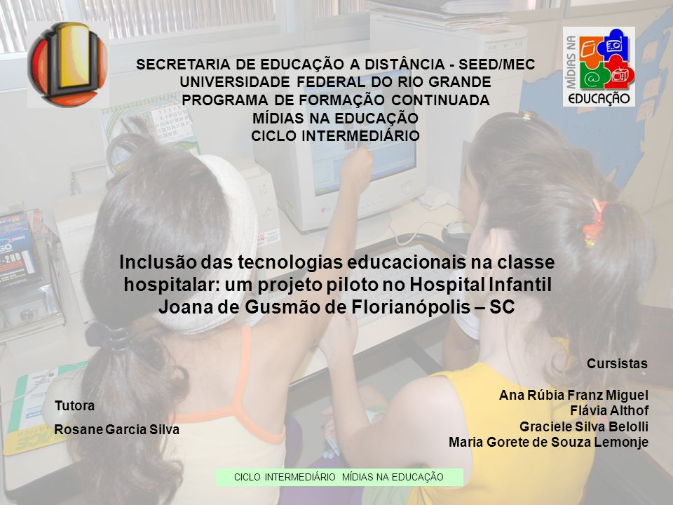 SECRETARIA DE EDUCAÇÃO A DISTÂNCIA - SEED/MEC